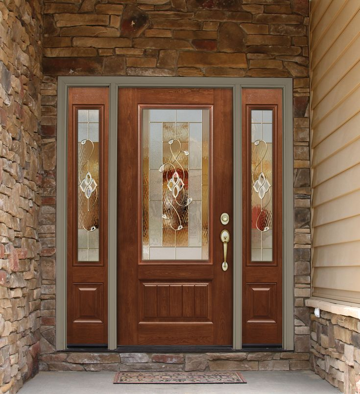 Signet Cherry Fiberglass Door | Fiberglass Front Doors ...