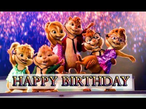 Chipmunks & Chipettes Happy Birthday Song Video | HappyBirthdayTV