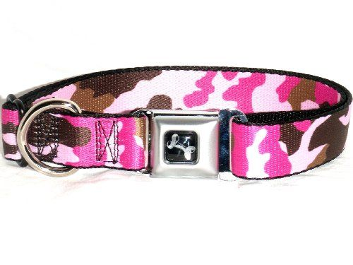 Pink Realtree Dog Collar And Leash
