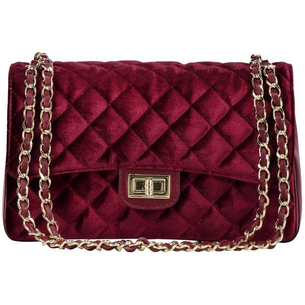 f238c07d500 VELVET BAG BORDEAUX ($94) ❤ liked on Polyvore featuring bags ...