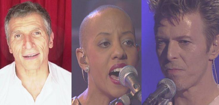 "My Taratata - Nagui - David Bowie & Gail Ann Dorsey ""Under Pressure"" (Li..."