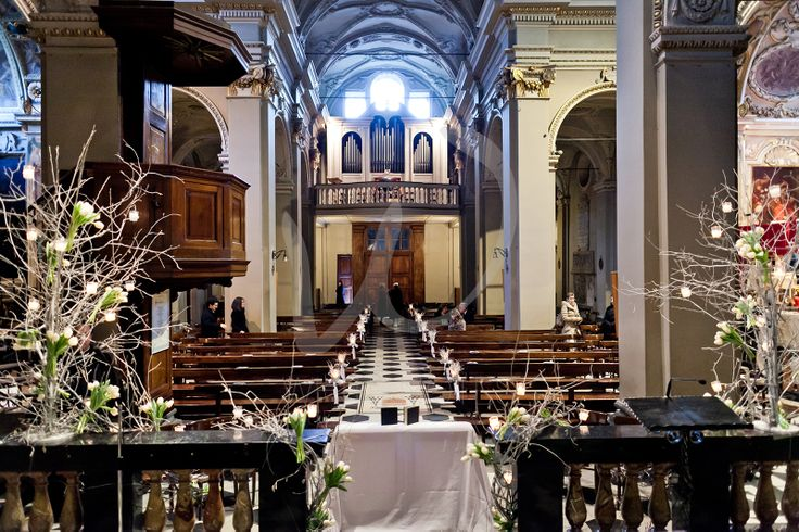 ....inside the Basilica of San Giorgio in Como.