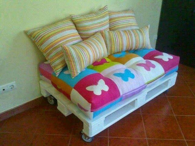 30 εκπληκτικοί καναπέδες απο παλέτες! | Φτιάξτο μόνος σου - Κατασκευές DIY - Do it yourself