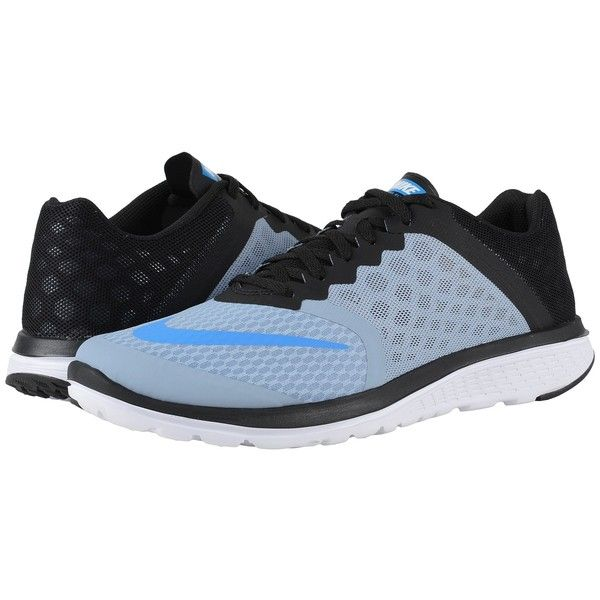 ($56) ❤ liked on Polyvore featuring men's fashion, men's shoes, men's  athletic shoes, nike mens shoes, mens breathable shoes, mens running shoes,  black ...