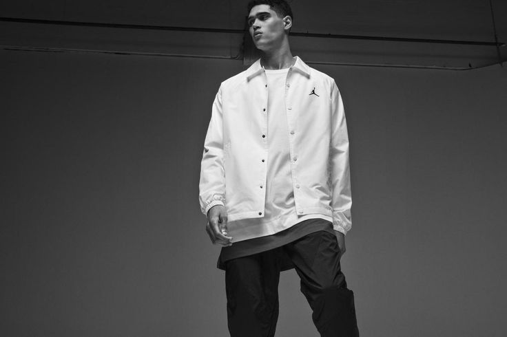 """Influenced by Michael Jordan's iconic style on and off the court, the next generation of Jordan apparel features versatile silhouettes that highlight the intersection of innovation and style.  Rooted in the brand's heritage, Jordan Brand's FA '17 collection nods to 1985 and Michael's iconic Flight Suit. The design team obsessed the Flight Suit details, pulling the flight lines into modern styles that maintain the style and soul of the brand with form, fit and function.  """"Jordan Brand stands…"""
