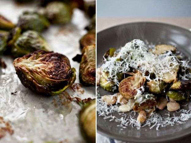 brussels sprouts with white beans and pecorino: Christmas Food, White ...