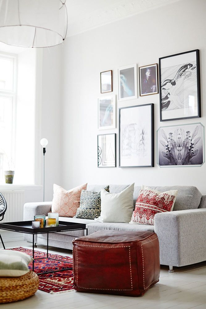 Cool Gallery Wall Decorating Ideas ★ See more: http://glaminati.com/cool-gallery-wall-ideas/