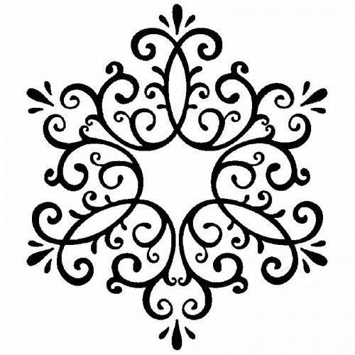 """Stempel """"große Schneeflocke"""" - Stempel - Advent/Weihnachten - die anlässe. - idee. Onlineshop"""