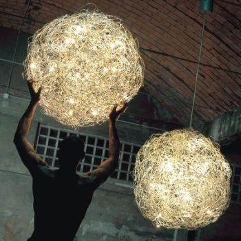 Fil de Fer Sospensione Suspended Lamp