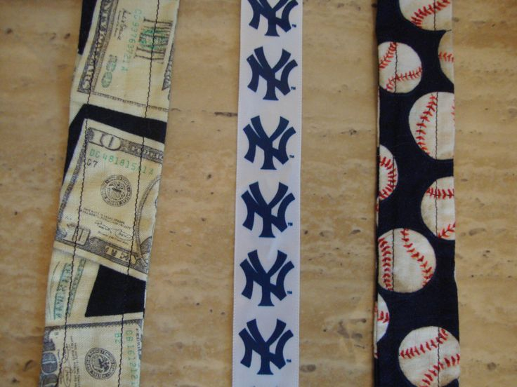 Boy Pacifier Clips, Baseball, Yankees, Money by StartDesigning on Etsy