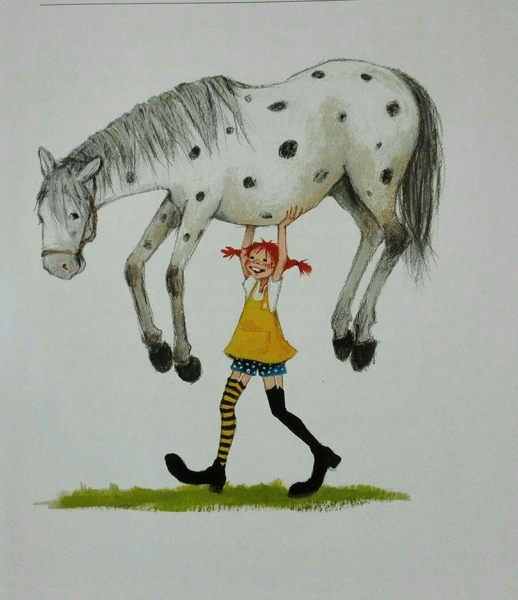 Pippi Langstrumpf, das stärkste Mädchen der Welt