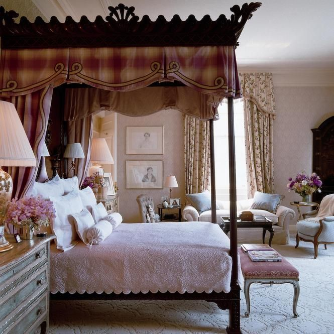 How To Use A Four Poster Bed Canopy To Good Effect: 1588 Best Images About Bed Crowns On Pinterest