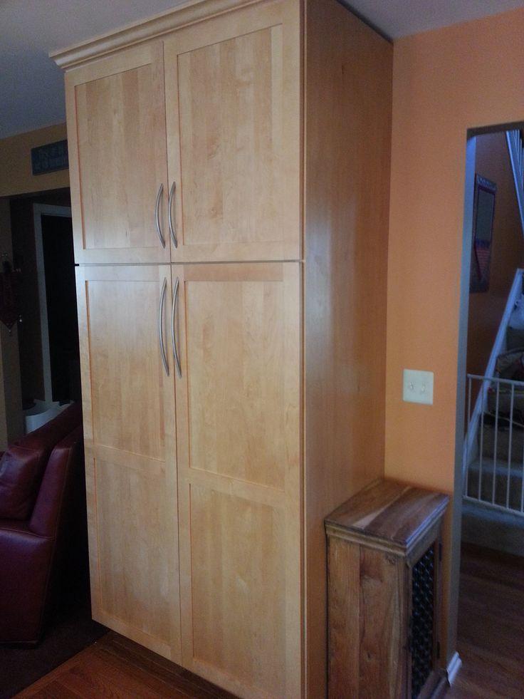 Bridgewood Advantage Mission Door, Wheat Stain