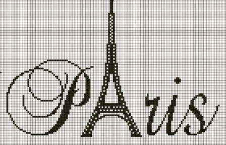 "ONE OF A KIND: AUGUST ""CROSS Stitch-Wzorcownia""- Paris"