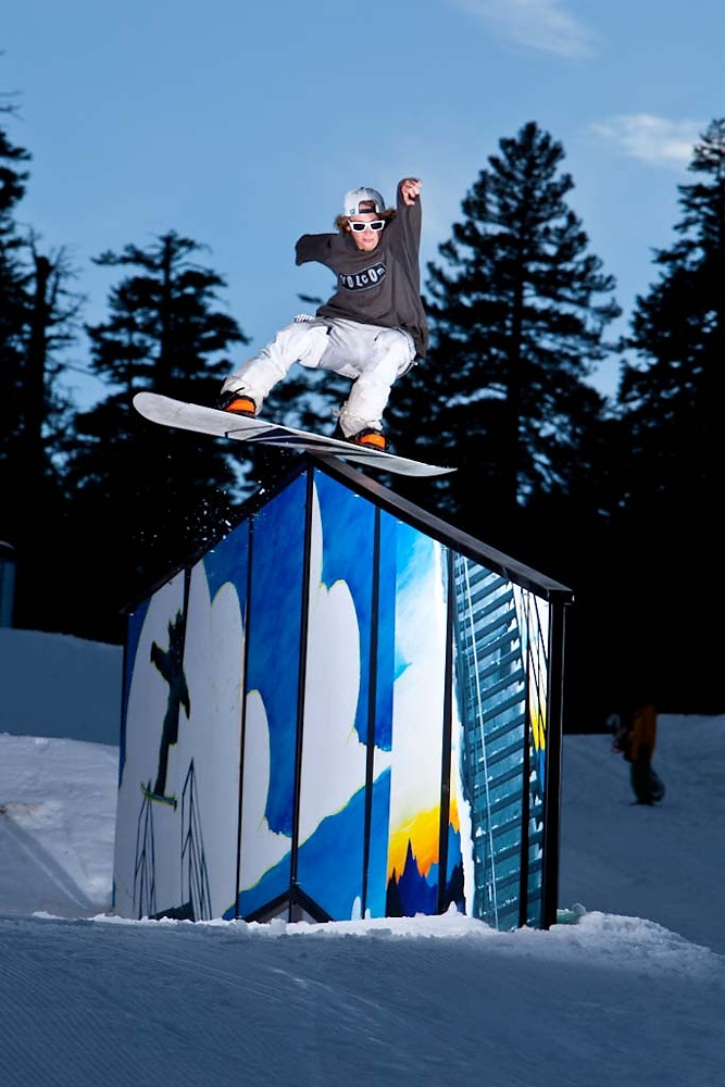 Dylan Alito @ the #MammothMountain Art Park