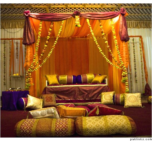 228 best indian wedding decor home decor for wedding images on pinterest indian weddings - Engagement party decoration ideas home property ...