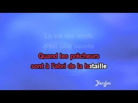 Karaoké La vie ne m'apprend rien - Balavoine(s) * - YouTube