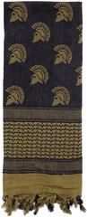 """42"""" Military Type Tactical Shemagh Scarf Face & Neck Sun & Sand Desert Scarves - Spartan"""