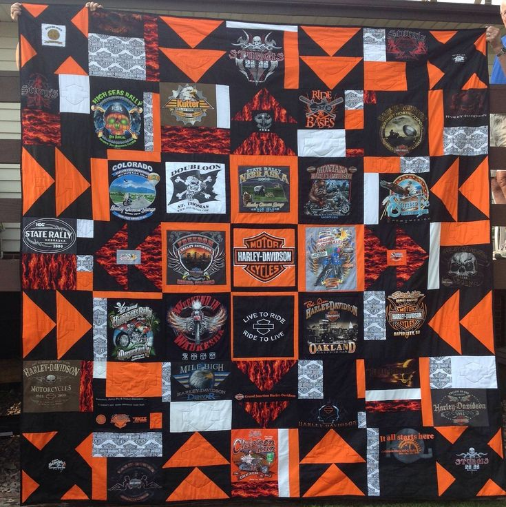 11 best Harley Quilts images on Pinterest | Blankets, Cars and Irons : harley davidson quilting fabric - Adamdwight.com