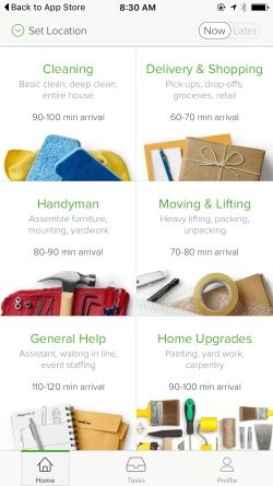 TaskRabbit Screenshots