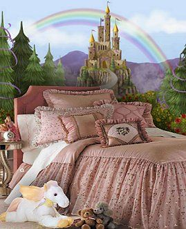 Google Image Result for http://girlsthemebedrooms.com/princess/Castle_murals_at_murals_your_way-fairytale_style_bedding_fairytale_princess_bedrooms.jpg