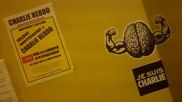Je suis Charlie hebdo ( place de la liberté d'expression) 10 rue Nicolas Appert 75011 Paris   Flickr - Photo Sharing!