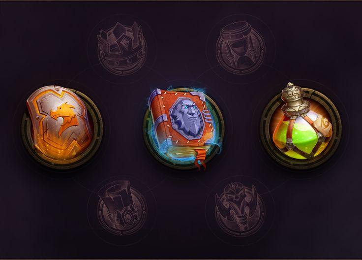 ArtStation - Warrior's Revenge UI, Nest Strix