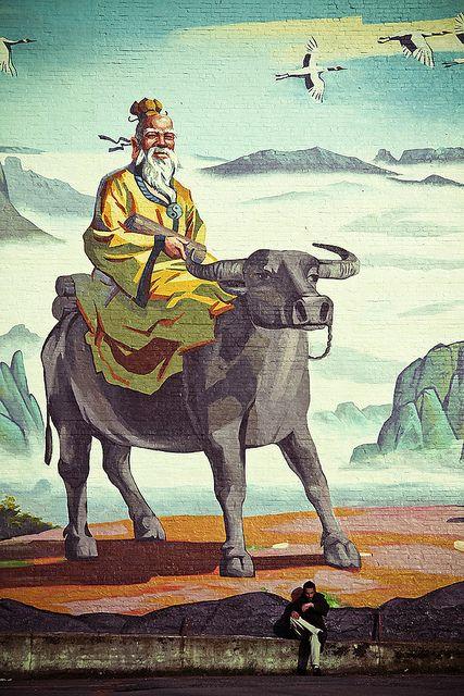 Lao Tzu mural, Vancouver