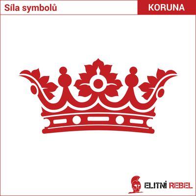 Síla symbolů - královská koruna