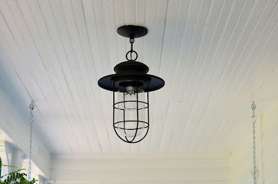 outdoor patio light. Good for kids and husbands who throw things. :)
