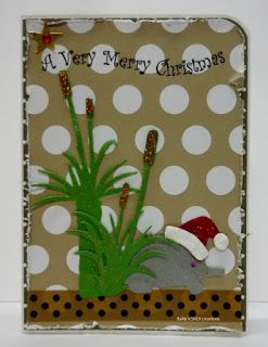 BaRb'n'ShEll Creations-Aussie Christmas cards-BaRb