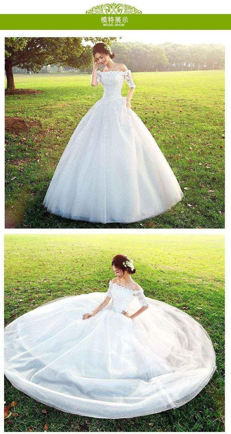 Hi Square Wedding Dress Wedding Dress 2016 New Summer Fashion Korean Word Shoulder Wedding Dress Halter Top Wedding Dresses Modern Wedding Dress From Iwedding, $281.09| Dhgate.Com