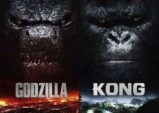 2020: The Year of the Rematch. Who are you rooting for?  Godzilla or King Kong?
