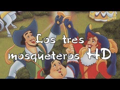 Cuentos infantiles: Los tres mosqueteros - pelicula dibujos HD