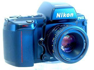Nikon F90X (N90s), Side View