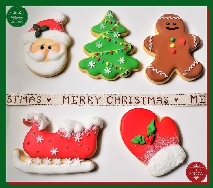 A simple but adorable Christmas Cookie Set.