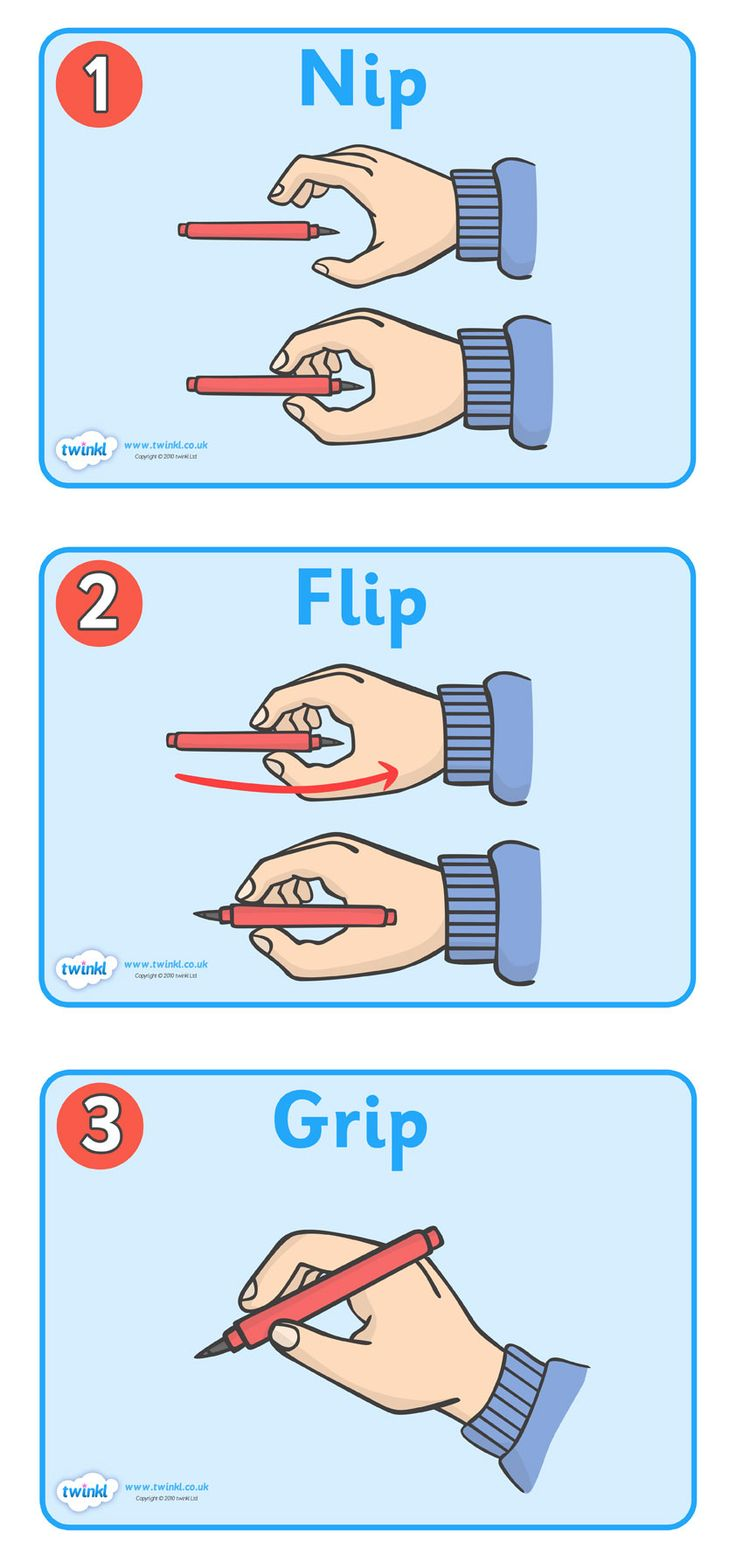 Twinkl Resources >> How To Grip A Pencil Poster  >> Thousands of printable primary teaching resources for EYFS, KS1, KS2 and beyond! pencil, how to grip a pencil, poster, banner, sign, nib, flip, grip, how to hold a pencil, writing, taught, shown, grasp,