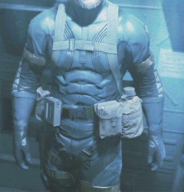 Idea, armadura del Consolador de azul marino