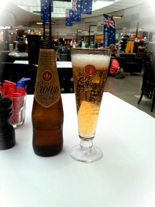 Australian beer... Australian beer in New Zealand