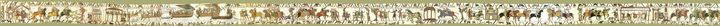 So, you can't tell from the picture...but it's the Bayeux Tapestry online!
