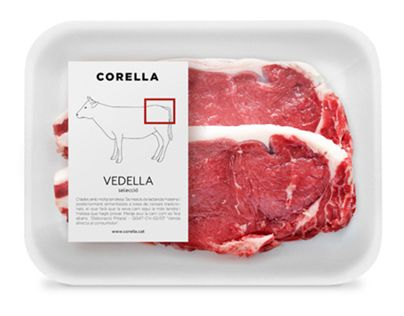 Branding and packaging for a meat shop in SantCugat