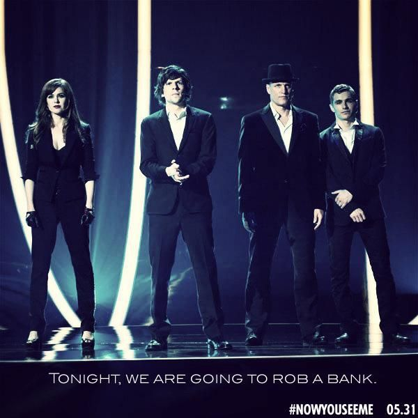 Now You See Me - Great movie! Loved it!