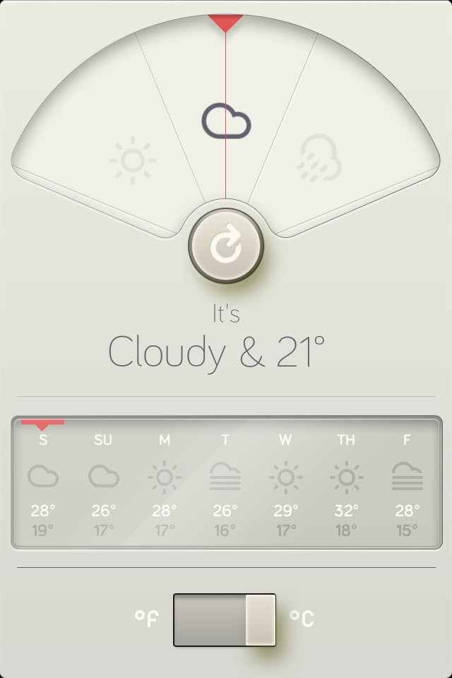 A beautiful weather app!