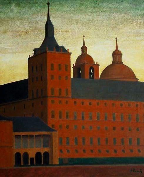 Fernando Puente. Óleo sobre lienzo. Monasterio de El Escorial.