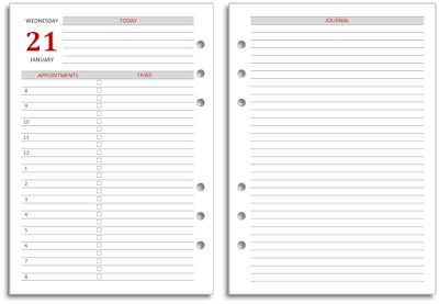 My Life All in One Place: Download free 2016 diaries for your Filofax A4 or ...