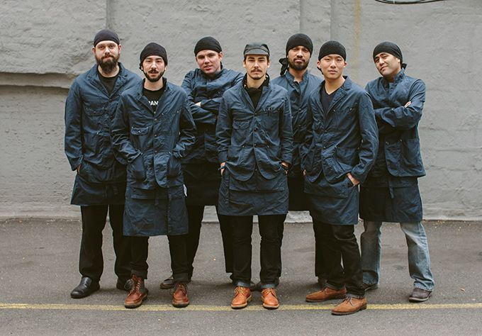エンジニアド ガーメンツが一風堂のユニフォームを制作 - ジャケットやエプロンなどを展開 | ニュース - ファッションプレス 渋すぎる