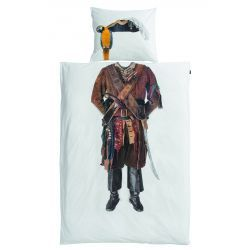 Pirate Duvet Cover and Pillowcase Set