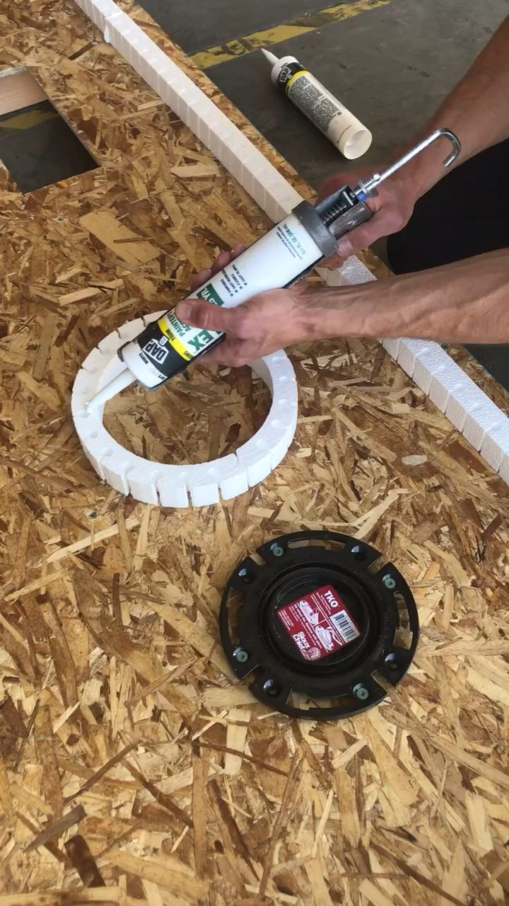 Protect A Toilet Flange When Pouring Self Leveling Underlayment Video Underlayment Concrete Tools Toilet Flanges