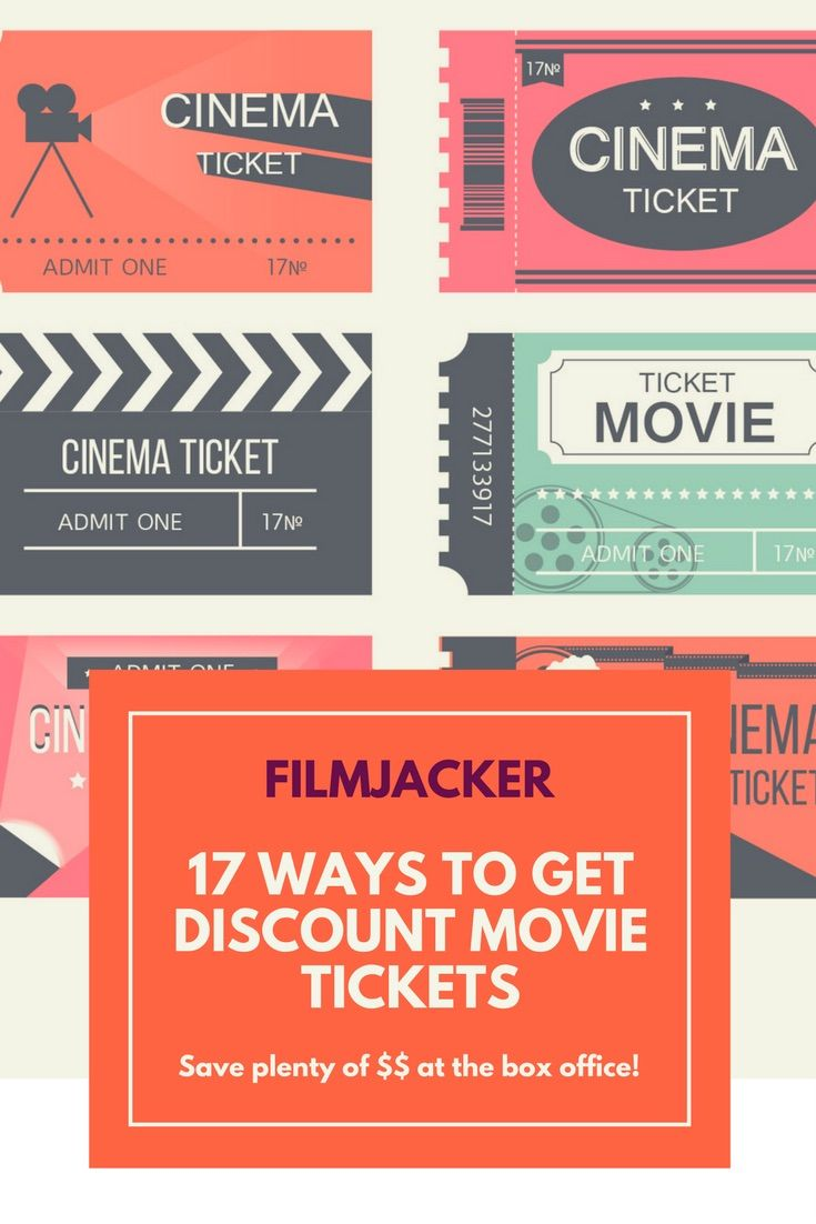 Discount movie tickets | cheap movie tickets | save money at the theater