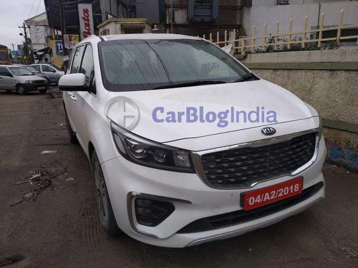 Kia Carnival Spied Uncamouflaged in India! Kia, Kia